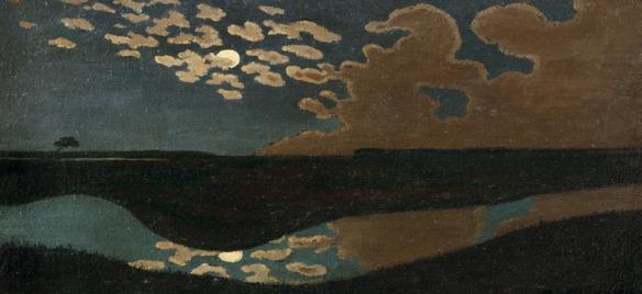 Félix Vallotton - Clair de lune, vers 1895