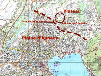 Hameau de Frontenex à Annecy-le-Vieux en Haute-Savoie