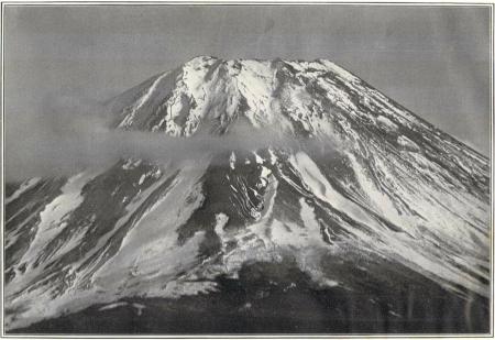 Herbert G. Ponting - le sommet du mont Fuji, publié par K. Ogawa en 1905