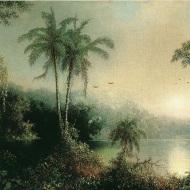 Martin Johnson Heade - Aurore au Nicaragua, 1869
