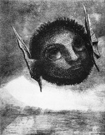 Odilon Redon - Gnome
