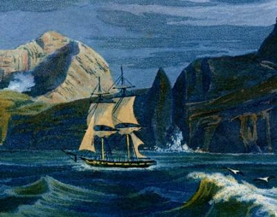 Sulphur Island, détail 4