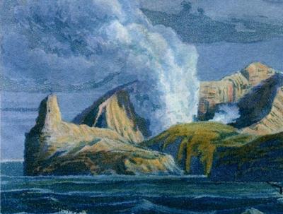 Sulphur Island, détail 5