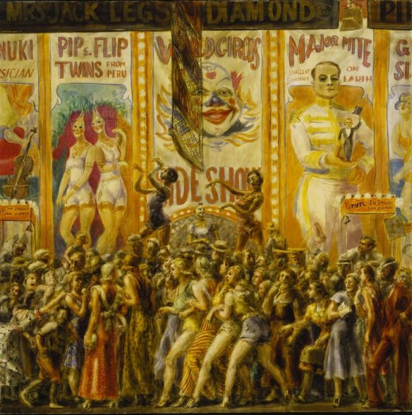 Reginald Marsh - Pip & Flip, 1932