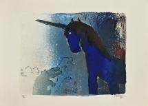 Adi Holzer - das Einhorn (la Licorne), 1975