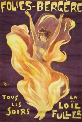 affiche Folies-Bergère réalisée par Jean de Pal