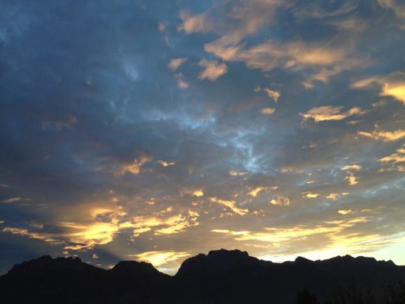 aube sur le lac d'Annecy - photo Enki (IMG_1705)