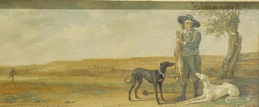 Paulus Potter - la punition du chasseur, scène 1