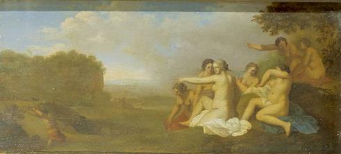 Paulus Potter - la punition du chasseur, scène 2 : Diane et ses nymphes