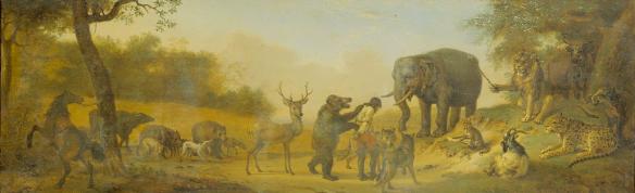 Paulus Potter - la punition du chasseur, scène 12
