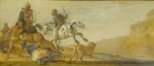 Paulus Potter - la punition du chasseur, scène 7