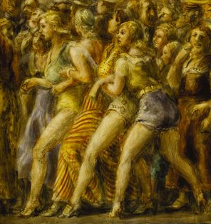 Reginald Marsh - Pip & Flip (détail), 1932