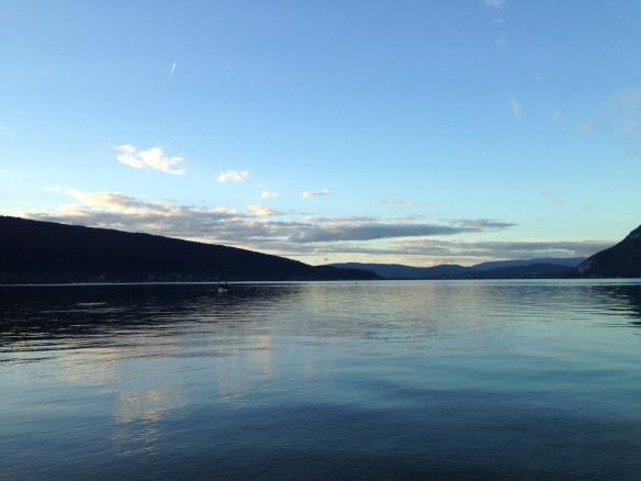 lumière du soir sur le lac d'Annecy - photo Enki (IMG_1732)