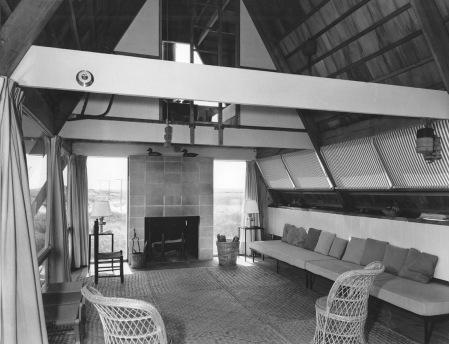 Andrew Geller - vue intérieure Reese House, 1957