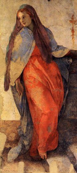 Jacopo Pontormo - Annonciation de la Vierge dans l'église de Santa Felicita, chapelle Capponi à Florence