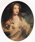 James Sant (1820-1916) - Ophelia-