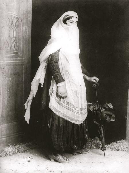 Kel Marubi - femme catholique de Shkodra, 1890-1910