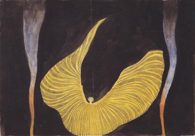Kilo Moser - la danse serpentine de Loïe Fuller, vers 1902