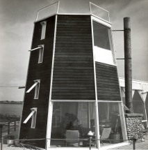 Langman House, (Reese House in Background) - tower2