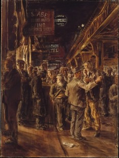 Reginald Marsh - The Bowery, 1930