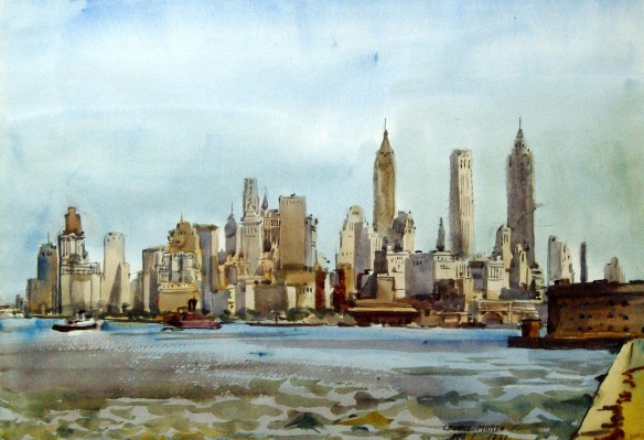 Reginald Marsh - vue de New York, 1937