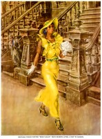 Reginald Marsh's Artwork High Yaller - Life Magazine, February, 1937