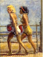 reginald_marsh_two_girls_on_bo