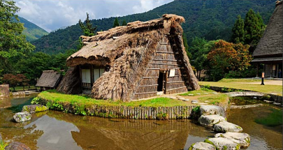 Japon - grange à Shirakawa