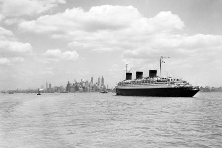 SS Normandie, vers 1935-1941