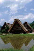 Japon - Village de Shirakawa, Gifu