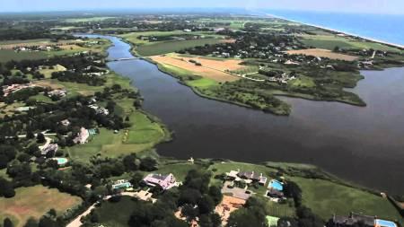 vue aérienne de la cote de saganopack