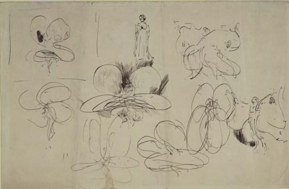 Whistler - Loïe Fuller dancing, 1892