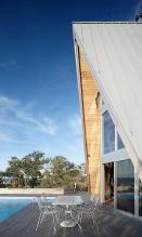 A-frame house à Fire Island (NY) - Bromley Caldari Architects