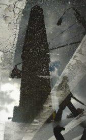 Dalia Nosratabadi, Man crossing Flat Iron, NY 06