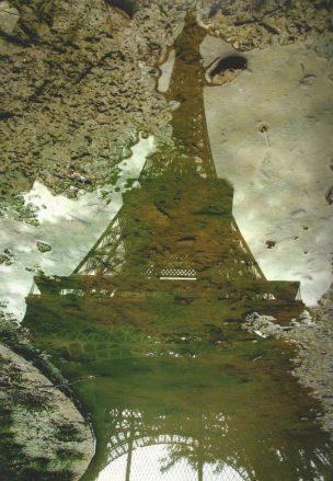 Dalia Nosratabadi, Tour Eiffel dans la boue, Paris 06