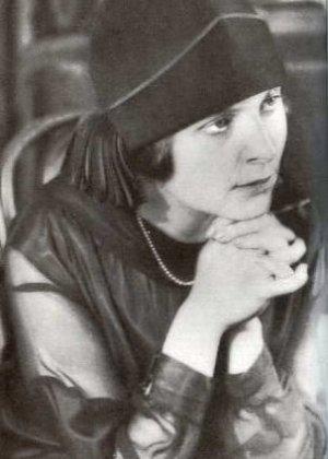 Elsa triolet (1896-1970) - photo prise en 1925