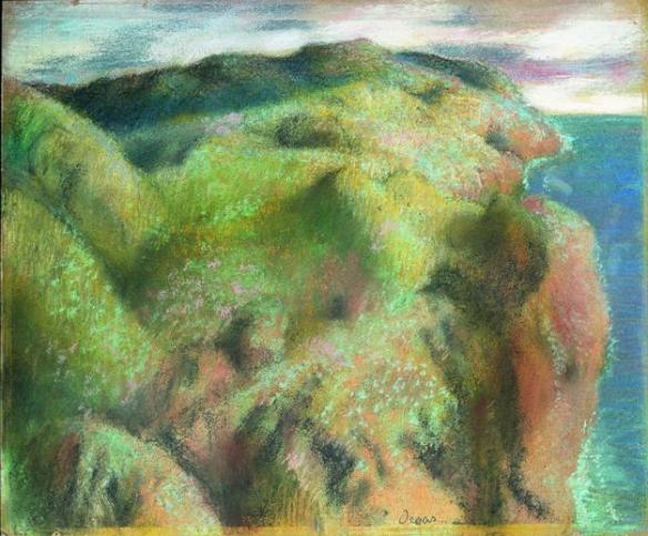 Degas - falaise ou côte escarpée