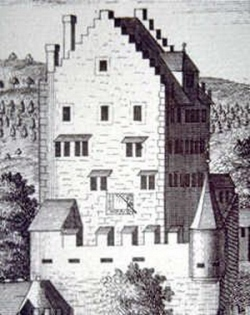 David Herrliberger - Greifende schloss, 1740