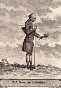 Jean-Jacques Rousseau herborisant - © Collection Jean-Jacques Monney, Genève