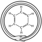 structure cyclique du benzène