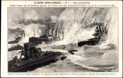 La guerre russo-japonaise de 1904