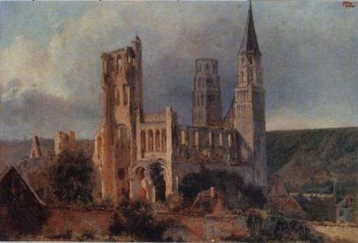 Dauzats - l'Abbaye de Jumièges