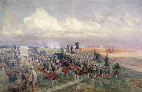 Edouard Detaille -Battle-of-Fontenoy