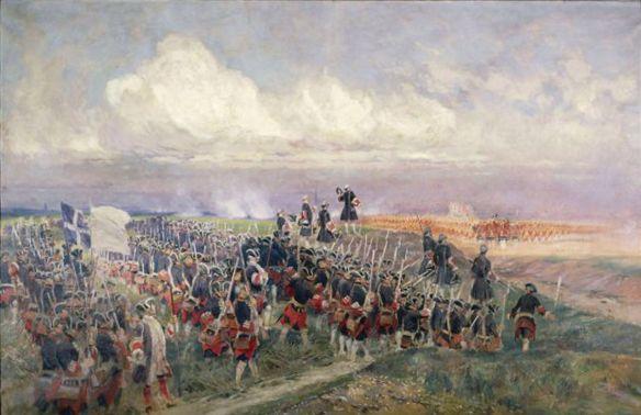Edouard Detaille -Battle-of-Fontenoy