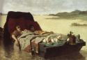 Evariste Vital Luminais - Les Énervés de Jumièges (version australienne), 1880