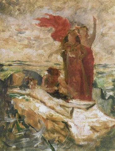 Evariste Vital Luminais -Première pensée pour les Énervés de Jumièges, 1880