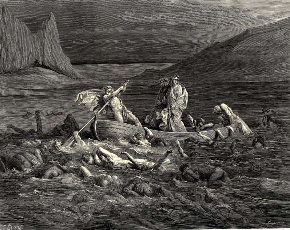 Gustave Doré - La Divine Comédie de Dante , les Enfers