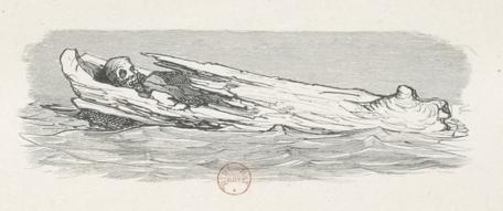 Gustave Doré - illustration pour La Mythologie du Rhin de Saintime, 1863