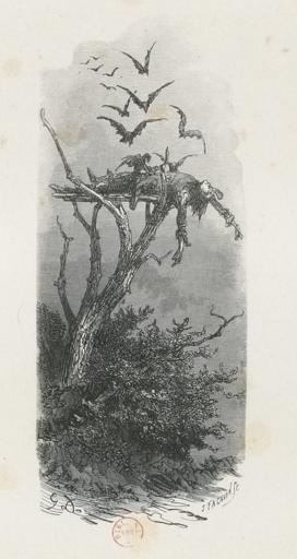 Gustave Doré - illustration pour La Mythologie du Rhin de Saintime