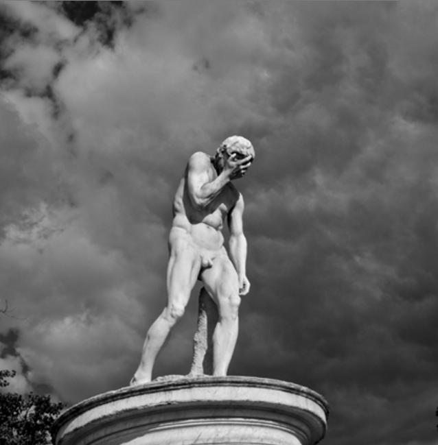 Henri Vidal - Caïn vennat de tuer son frère Abel, 1896 - jardin des Tuileries - photo Sollis.ce 3